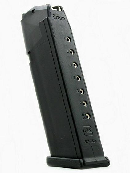 Glock 17 10 round polymer magazine