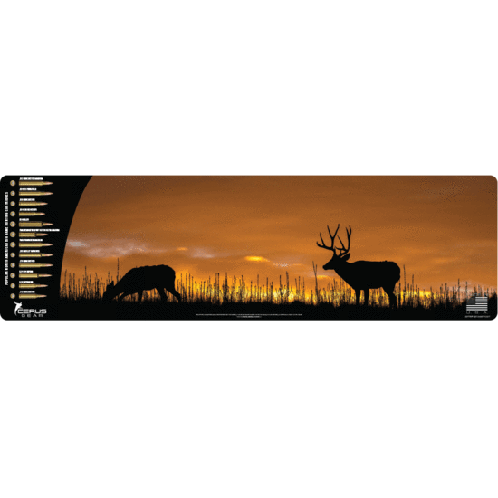Mule Deer sunset + cartridges Mega Promat