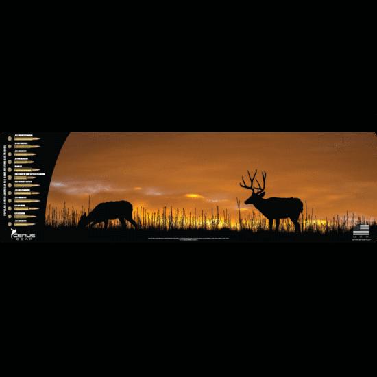 Mule Deer sunset + cartridges Mega Promat Cerus