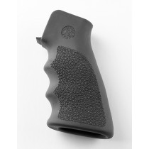 AR15/M16 OverMolded Rubber Grip with Finger Grooves Slate Grey 15002