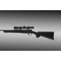 Howa 1500 short action heavy barrel full bed black stock 15112