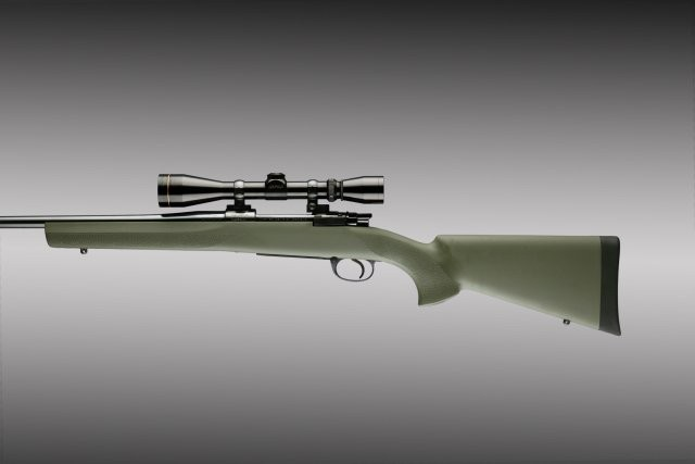 Mauser 98 Military and Sporter Actions Full Bed Block Stock OD Green 98202