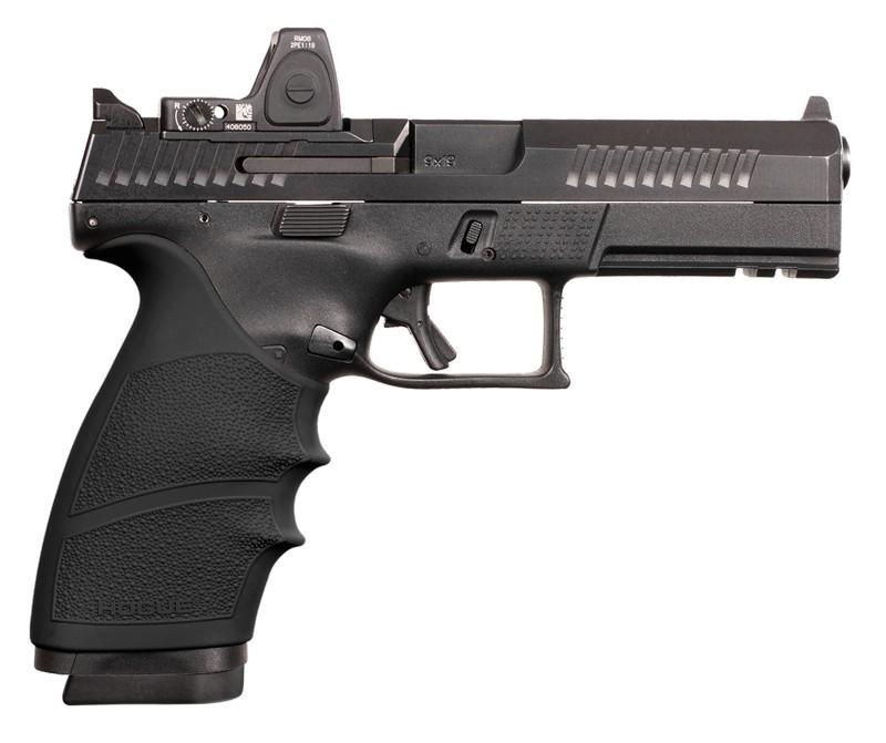 CZ P10 F handall grip with beavertail black 17800