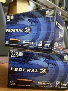 FEDERAL 223 Rem bulk pack