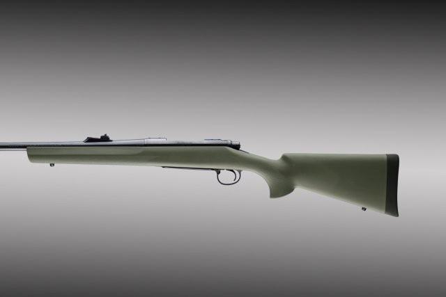Remington 700 BDL Long action std barrel full bed OD green stock 70203