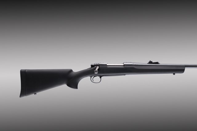Remington 700 BDL long action heavy barrel full bed black stock 70013