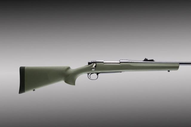 Remington 700 BDL long action heavy barrel pillar bed OD green stock 70211