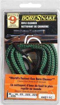 M16/22cal Hoppes bore snake rope cleaner