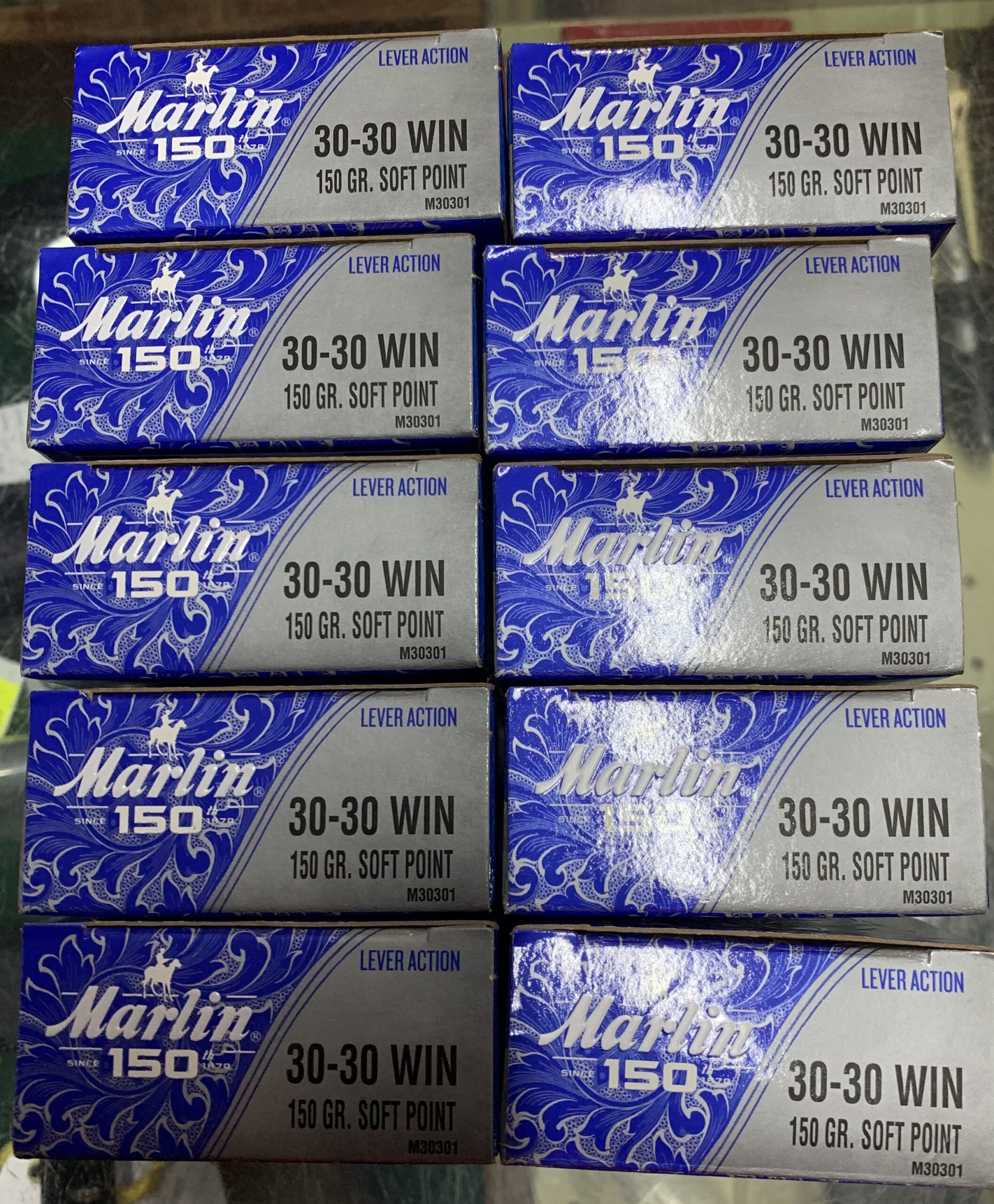 Marlin 30/30 anniversary edition 150g SP ammunition (20)