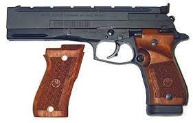 Beretta Pistol. Beretta 87 Target.