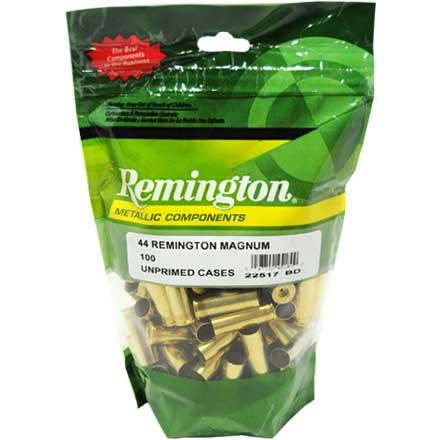Remington 44 magnum brass 100 pack